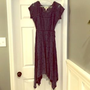 Jessica Simpson : Blue Lace Maternity Dress Size M